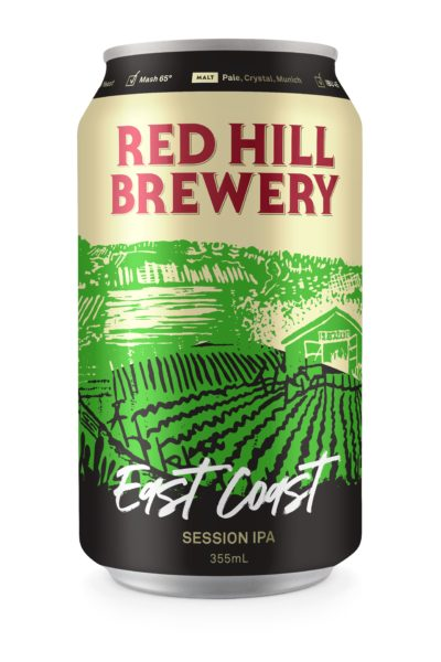 Red Hill Brewery East Coast IPA