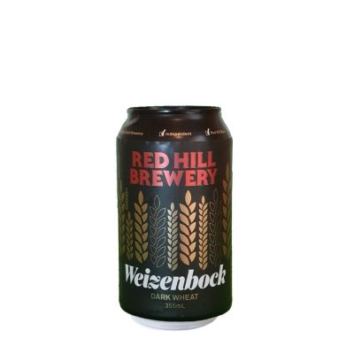 Can of Weizenbock Craft Beer